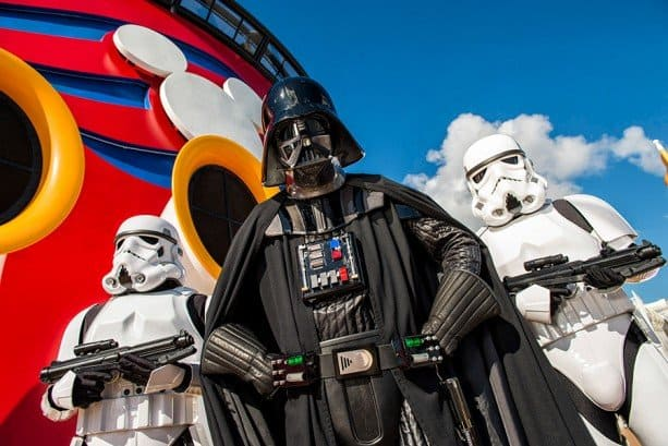 Star Wars Cruise on Disney Criuse Line