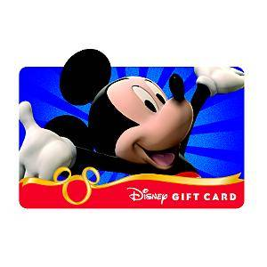 Disney Gift Card Drawing