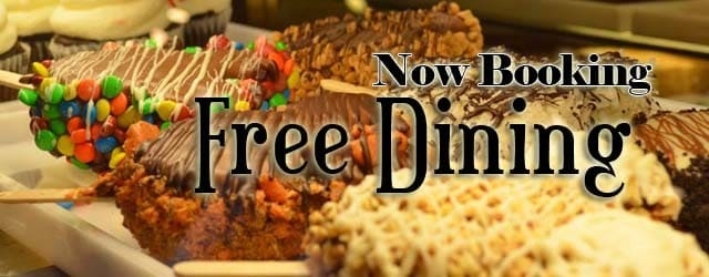Book disney free dining for 2012 pixie vacations How to get free dining at disney