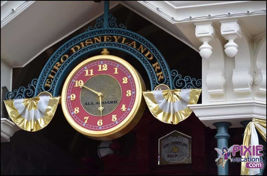 Disneyland Paris still gives a nod to Euro Disney Resort