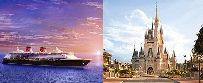 Disney Cruise And Walt Disney World Vacation All In One