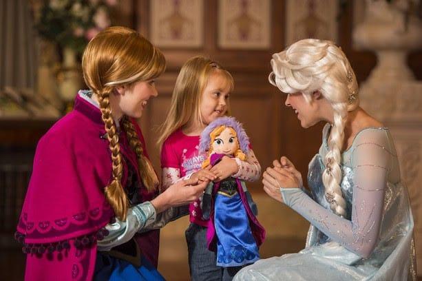 Frozen characters at disney world meet greet pixie vacations frozen characters at disney m4hsunfo