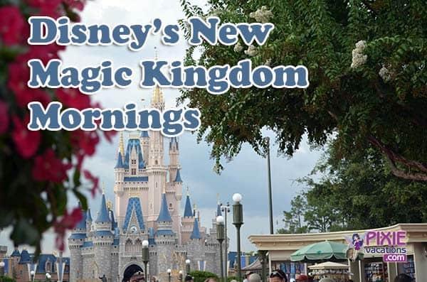 Magic Kingdom Opening Hours