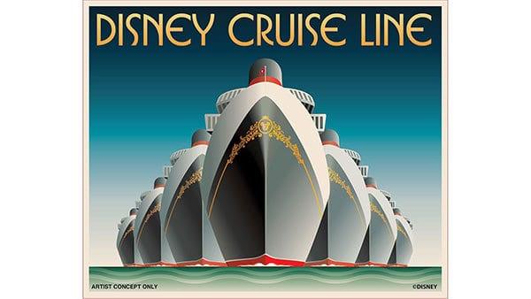 7 ships at Disney Cruise Line