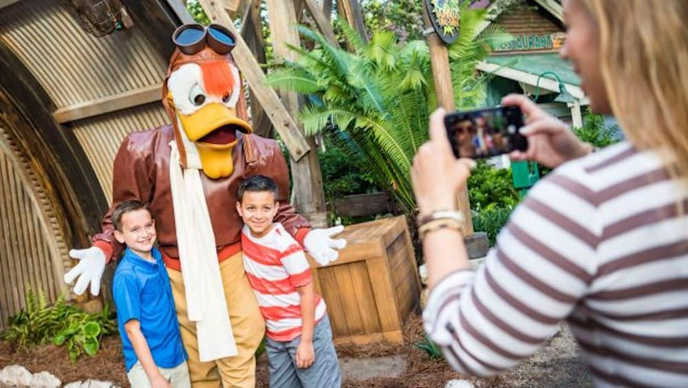 Donald's Dino-Bash! Celebration at Disney's Animal Kingdom
