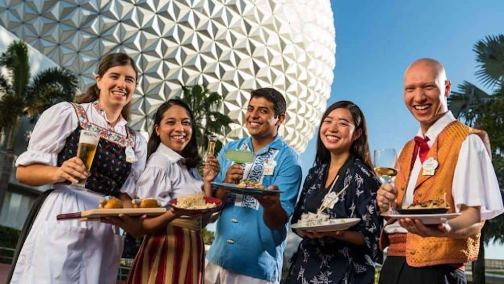 2018 Epcot International Food & Wine Festival Events