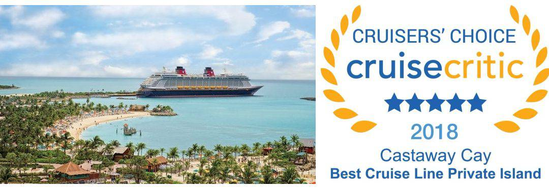 Cruise Critic Names Castaway Cay the Best Cruise Line Private Island
