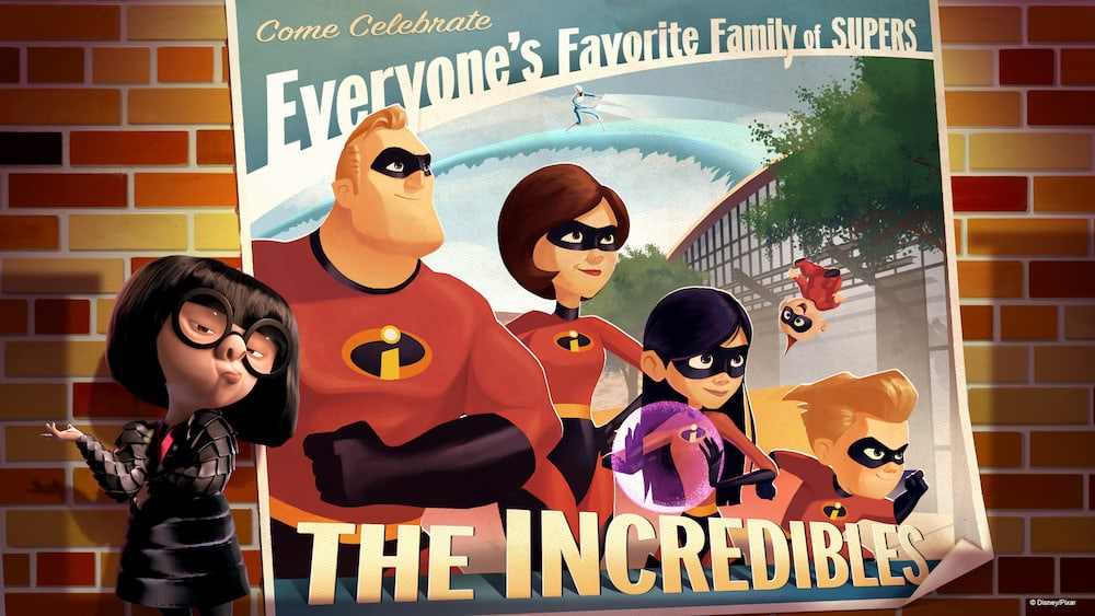 Incredibles are coming to Disney's Hollywood Studios